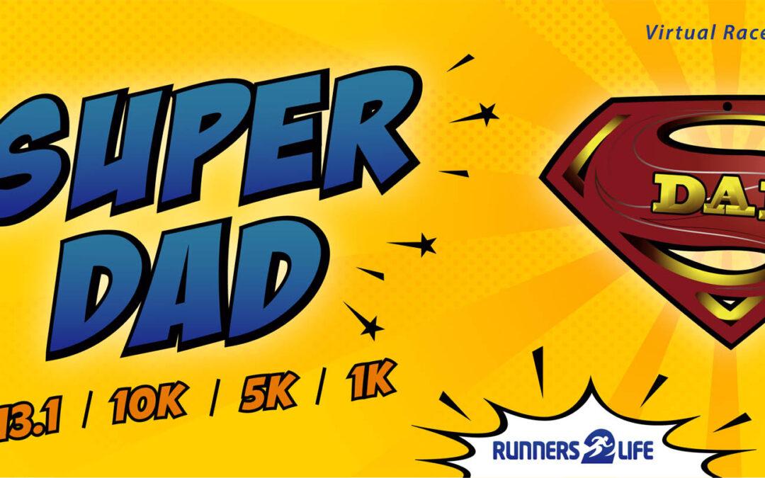 Bib super dad race